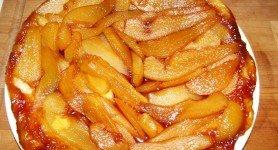 Tarte Tatin aux poires pour 3 euros en 25 minutes